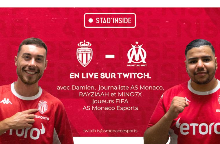 Mino et RayZiaaH invités de Stad'Inside pour le choc Monaco - OM