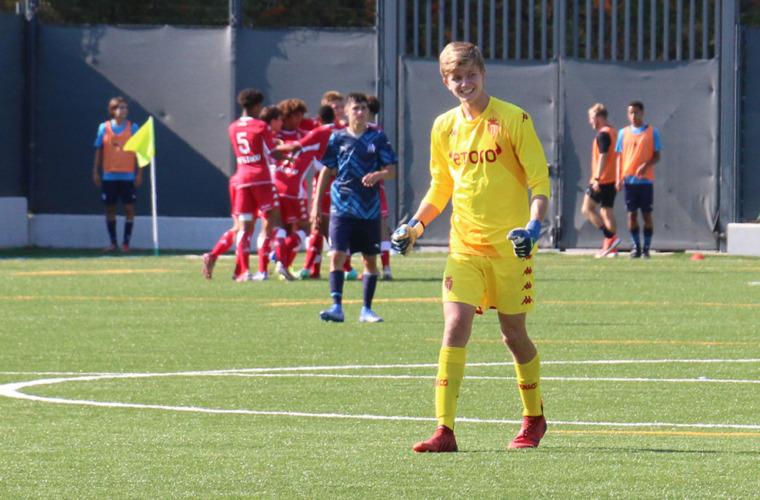 Olmeta, Valme et Michal en équipe de France U17