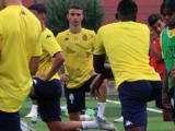 U18 : Dejan Kuzmanovic, avec la Serbiecontre l'Italie