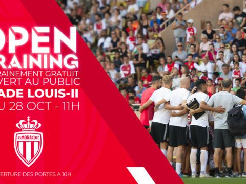 Venez assister à l'entraînement de l'AS Monaco au Stade Louis-II !