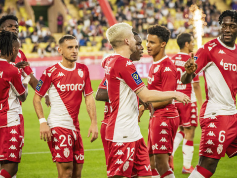 Monaco goleó al Montpellier