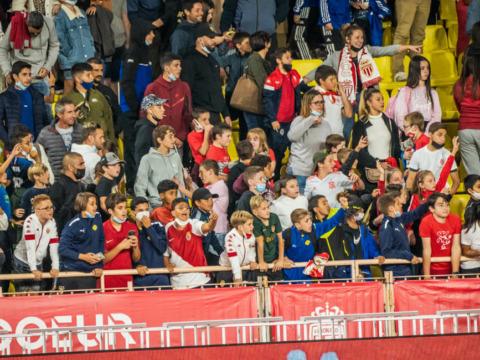 Près de 900 jeunes footballeurs au Stade Louis-II