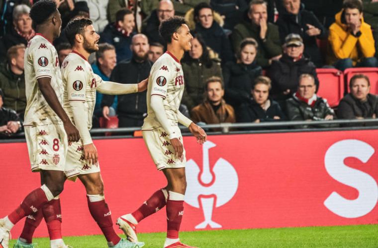 In their 200th European match, Monaco win in Eindhoven!
