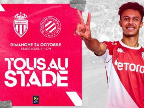 Plus de 800 jeunes footballeurs invités pour Monaco-Montpellier