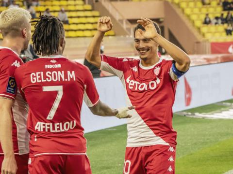 70e en Ligue 1 pour Gelson Martins, 50e avec Monaco pour Disasi