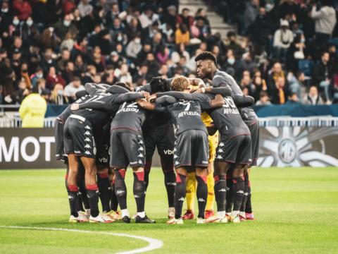 Le groupe de l'AS Monaco pour le déplacement à Eindhoven