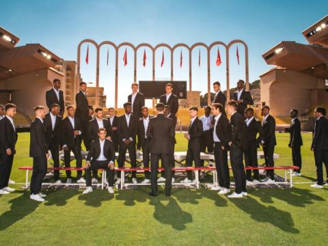 Dans les backstages de la photo officielle de l'AS Monaco