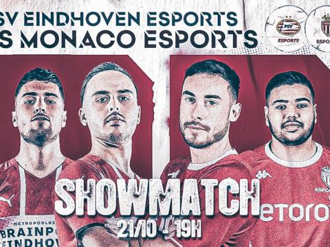 L'AS Monaco Esports VS le PSV Eindhoven sur Twitch